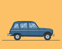 Car - Renault 4L