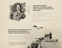 History Film - Ladingpage