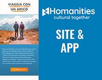 Homanities Site & App