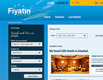 Hotel Booking Web Portal