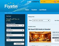 Hotel Booking Web Portal