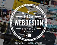 Mega Web Design Bundle with Extended License - Only $19