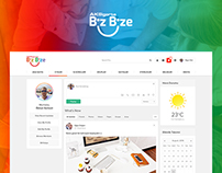 Aksigorta Bizbize Social Platform Interface Design