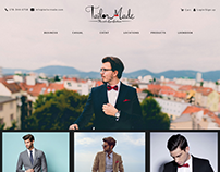 Website Layout : Homepage
