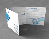 Corporate Squre Trifold Brochure Template -09