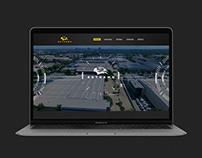 Skyhawk - Website design