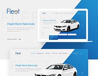 Rent Car Website