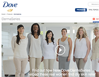 Content Strategy, Content Management, Copywriting: Dove