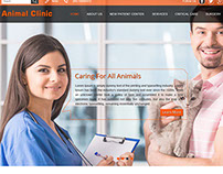 Animal Clinic Website