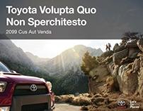 PowerPoint Toyota Truck Portfolio Piece