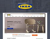 Ikea.com redesign concept