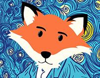 Poster Vincent Van Fox