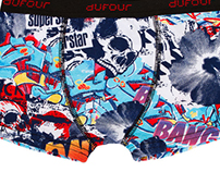 Dufour | Print Designs - Men's Summer Underwear SS17