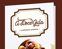 A doce gula - Folder