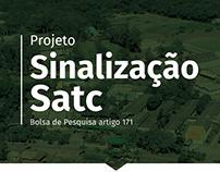 Proposta de Sinalização para a instituição SATC