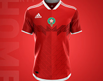 MOROCCAN NATIONAL TEAM KIT 2019