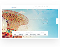 Union Airlines Responsive Website Design Concept