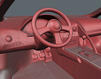3D Scanned Lamborghini model