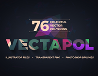 Vectapol - 30 FREE & 76 PREMIUM Vector Polygons