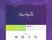 Social Thinks Website Design