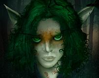 Night Elf - Digital Paint