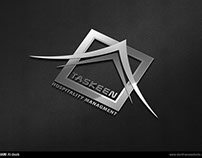 Taskeen logo + stationary