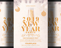 New Year Invitation | Flyer