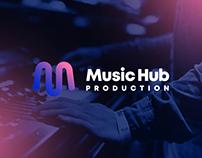 Music Hub Production - logo & branding