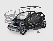 BMW i3 Facebook Canvas