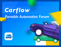 Carflow车流 一次完整的UI+UX练习