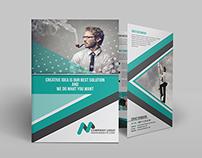 Bi-fold Brochure Business Template