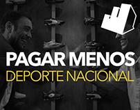 Banco República - Pagar Menos, Deporte Nacional