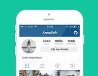 Inst Follow. App Design