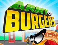 Mobile Game Army Of Burgers
