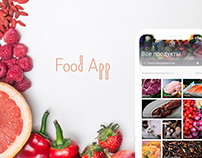Mobile App | Design concept for FoodApp