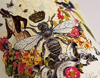 Camelot Mead Honey Wine Label & Packaging Design