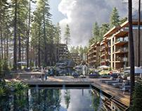 CGI: Residential buildins in Switzerland