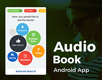 Audio Book Android App UI/UX