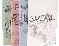 Book Cover and Slip Case Design: Survival