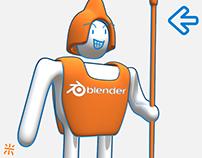 Outline Tutorials with Blender & Sketchfab
