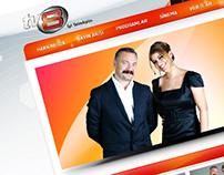 TV8 Channel Corporate Website, 2010
