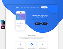 App Landing Page FREE Download