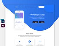 App Landing Page FREE Download