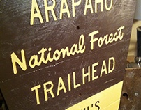 Trail Sign Replicas, late 2015