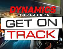 Dynamics Simulators Brand Identity: Racing Driver