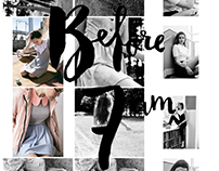 Before 7 am fashion label -Social media visual identity