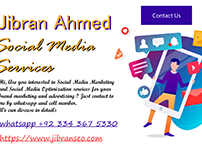 SOCIAL MEDIA SERVICES BY JIBRAN AHMED