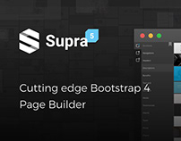 Supra - Cutting edge Page Builder