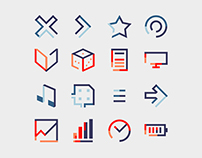 Geometric Gap Icon Pack