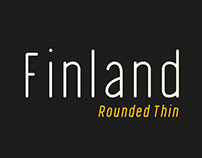 FINLAND - FREE ROUNDED THIN GEOMETRIC FONT